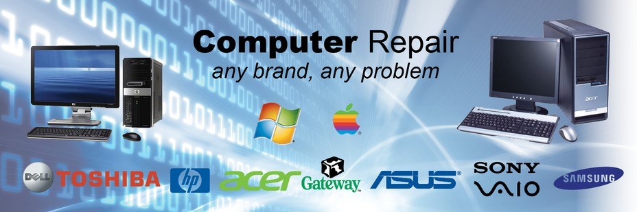 We service and repair all makes and model laptops excluding apple